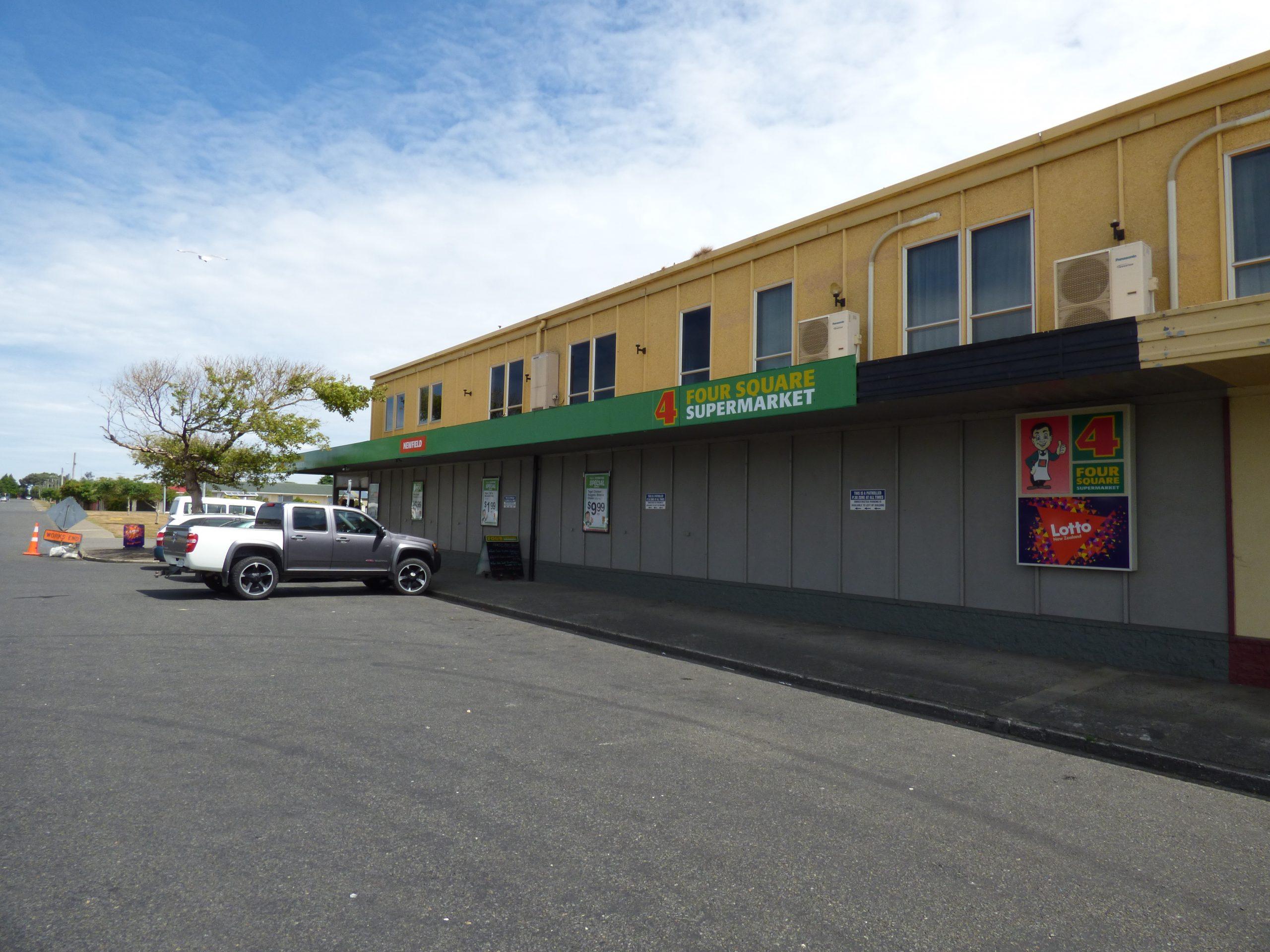 Phoenix Invercargill customers car parking area