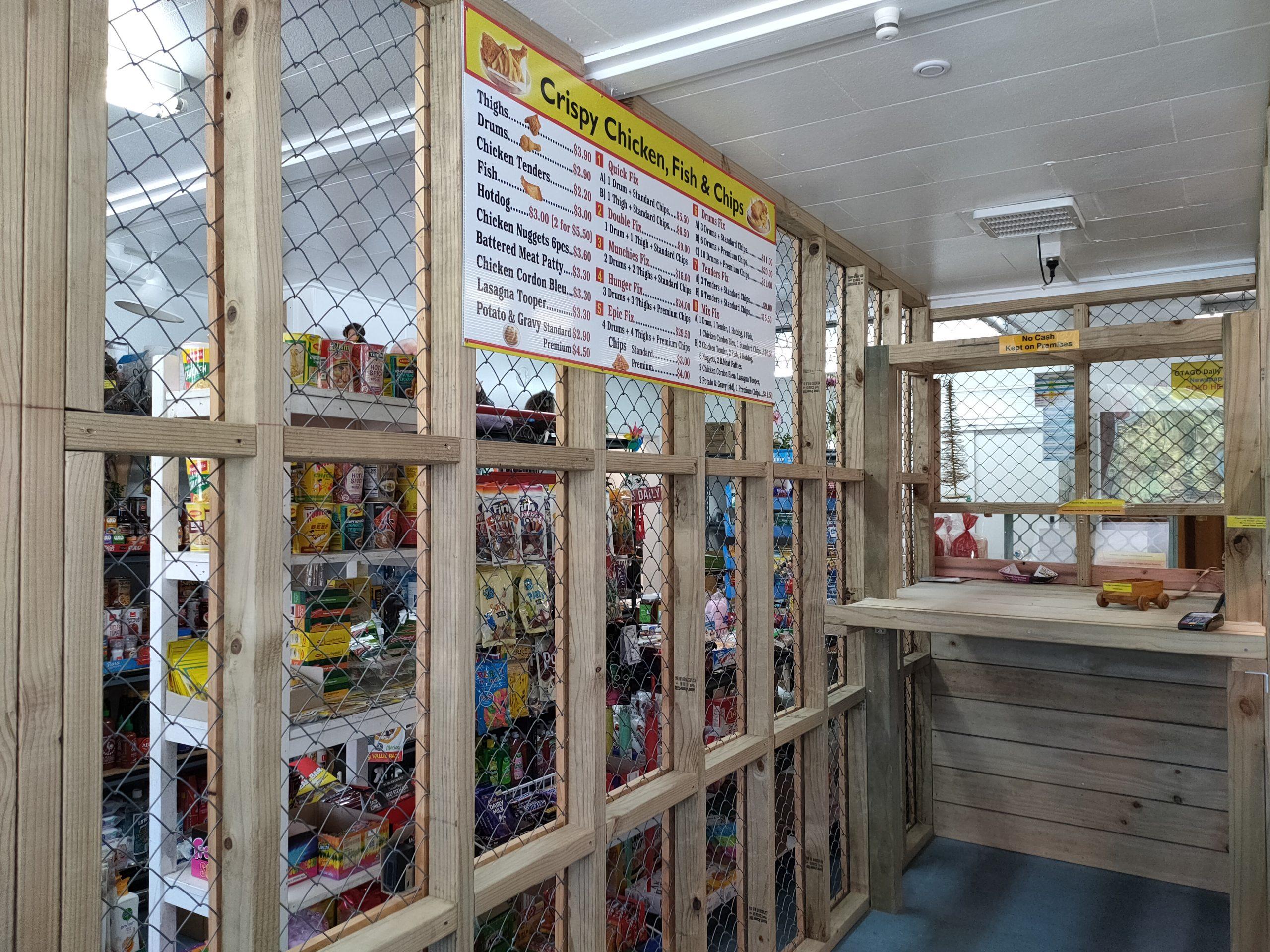 Fortress Convenience Oamaru interior